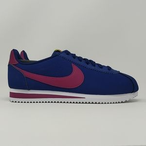 Nike Womens Classic Cortez Leather Blue 807471-406